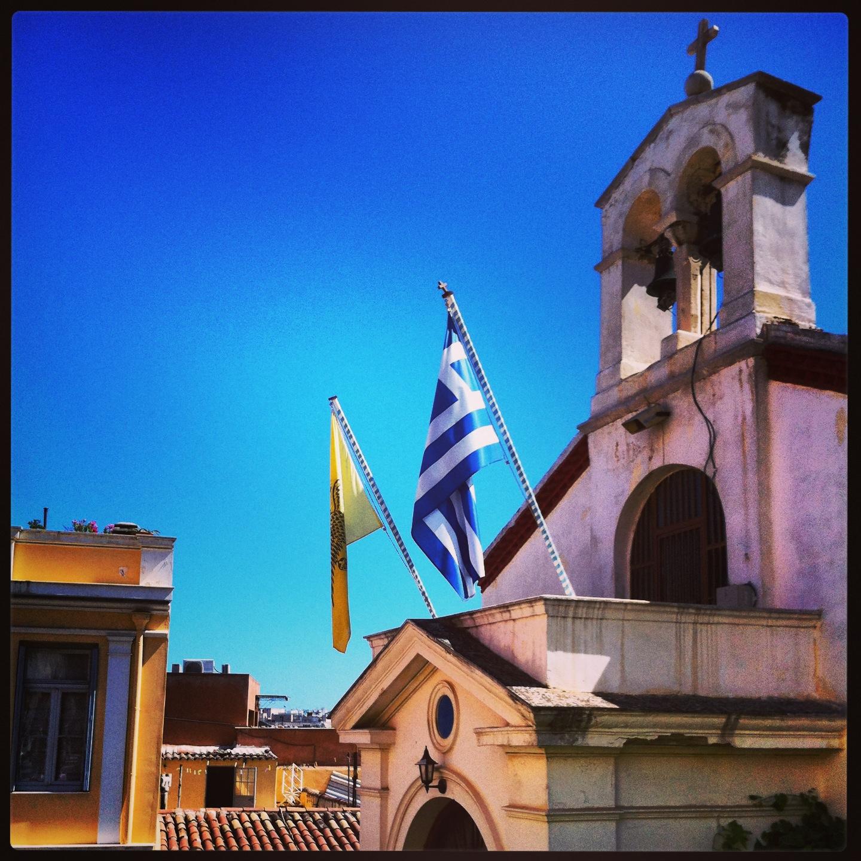 Eglise è Athènes