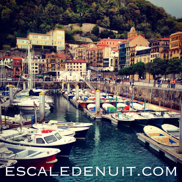 Le petit port se San Sebastian