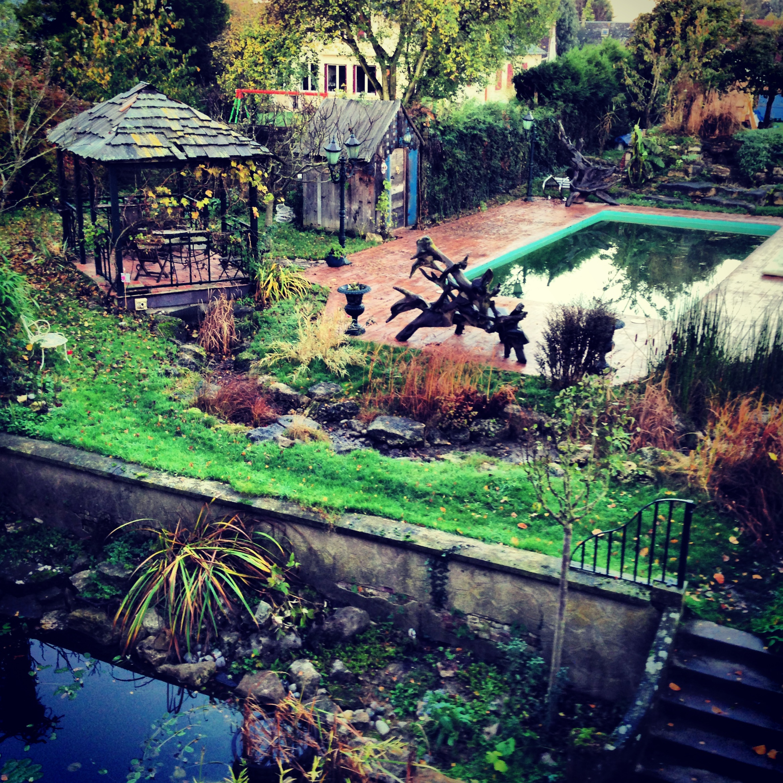 le jardin de l'établissement le temps d'un rêve chambres d'hôtes
