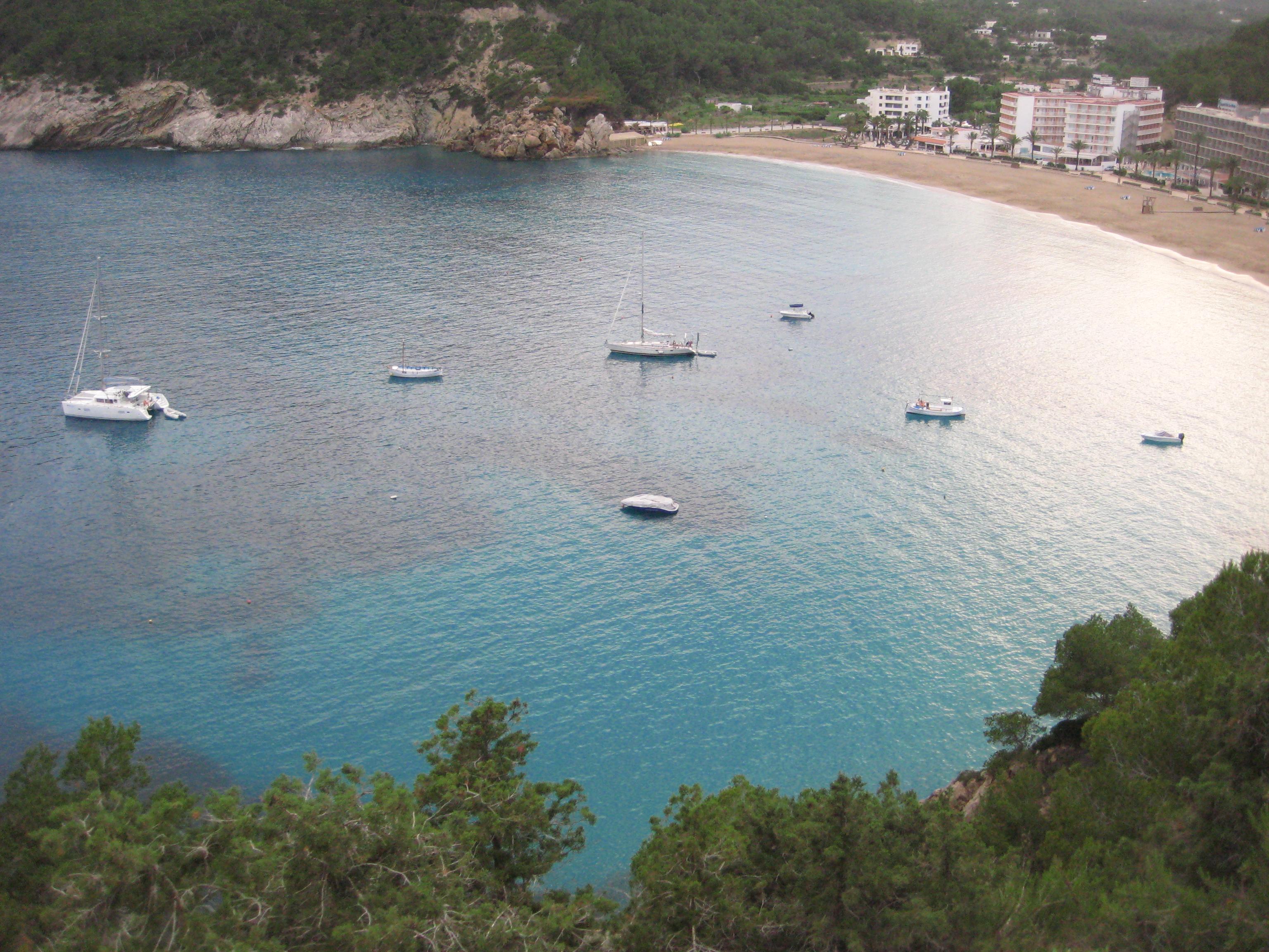 Calla Valleda, Ibiza; une baie magnifique à Ibiza