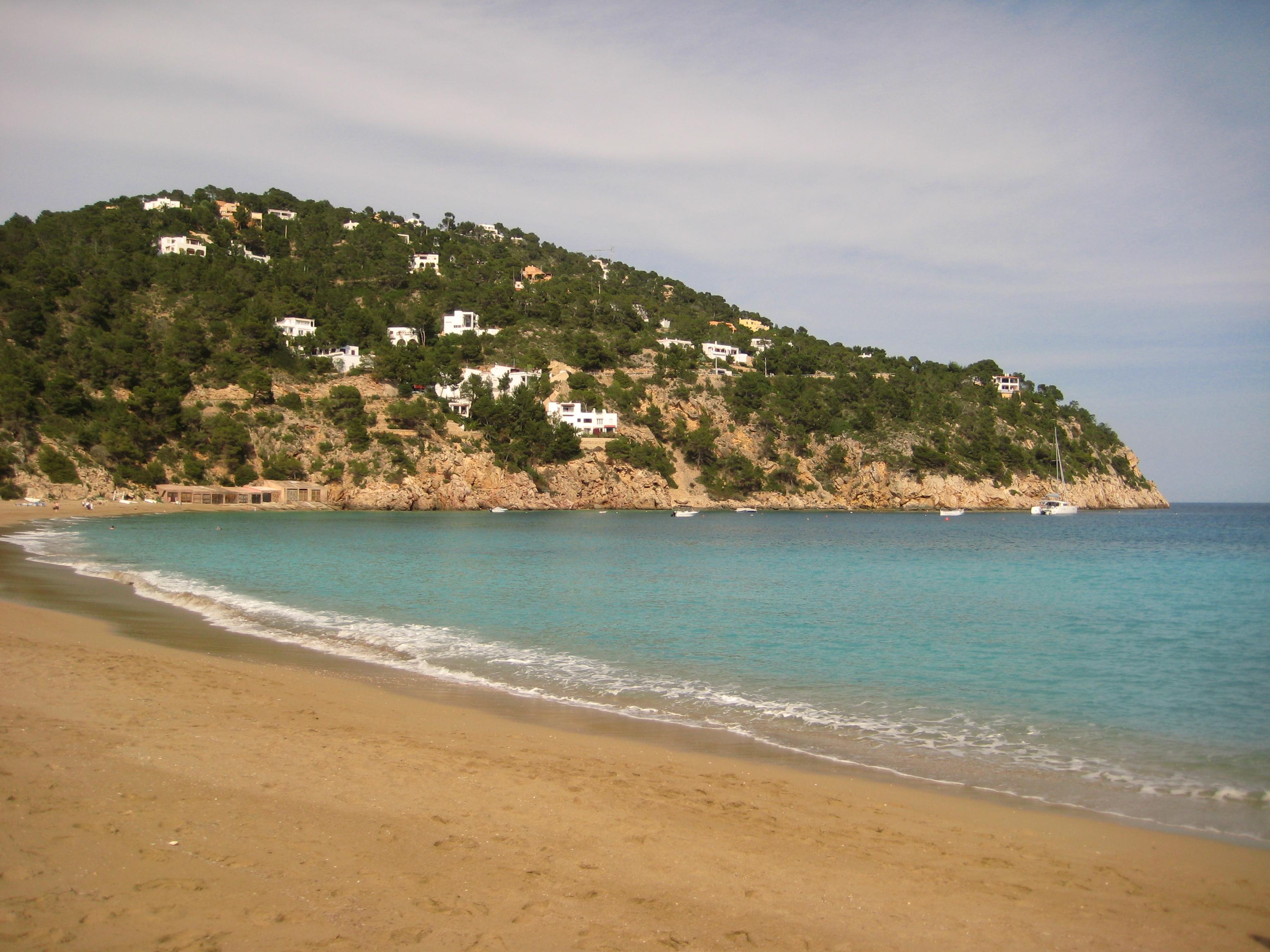 Calla Valeda, une plage magnifique à Ibiza