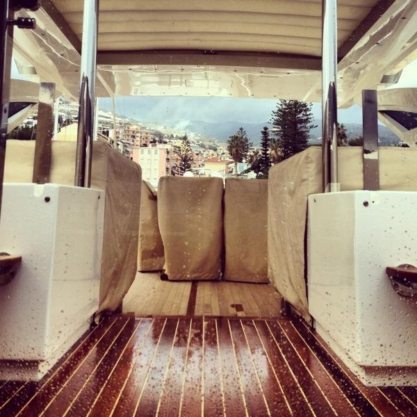 Sanremo, vue depuis un superyacht