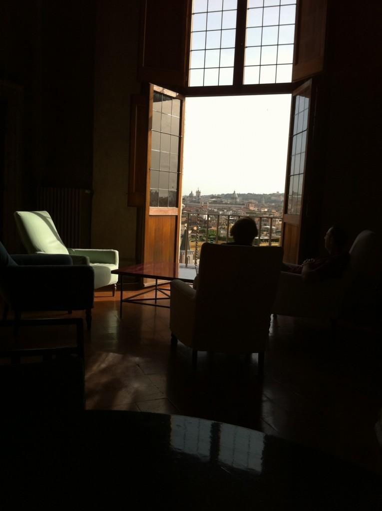 Un tête à tête avec Rome à la Villa de Medicis