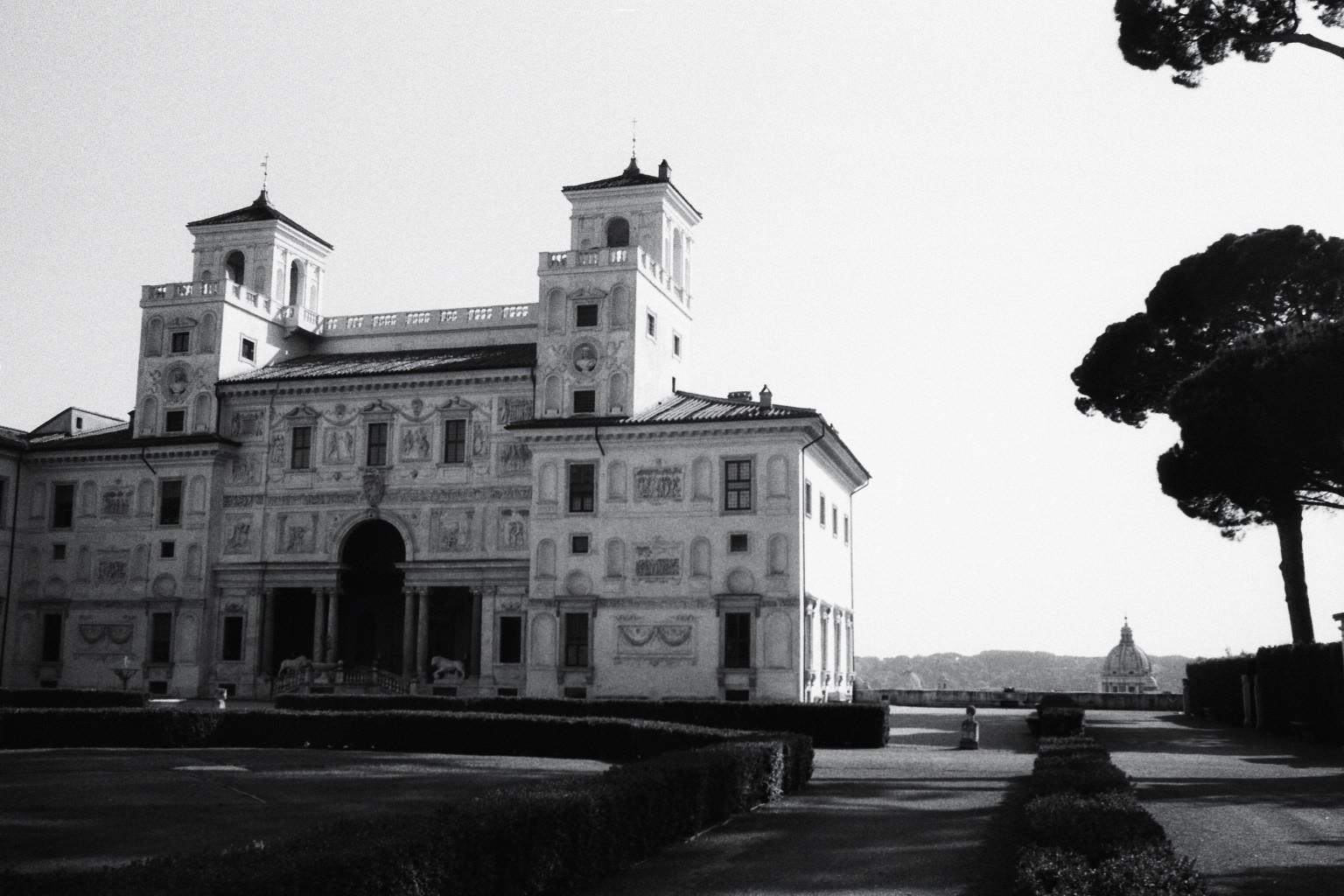 La villa de Medicis
