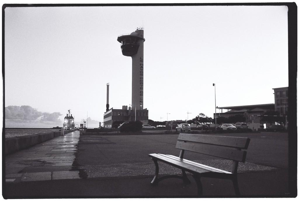 L'entrée du port du Havre