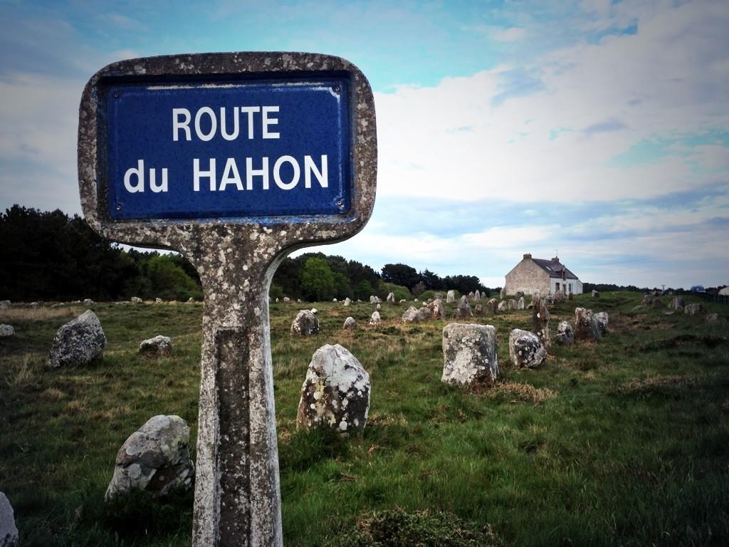 Route du Hahon, les alignements de Carnac