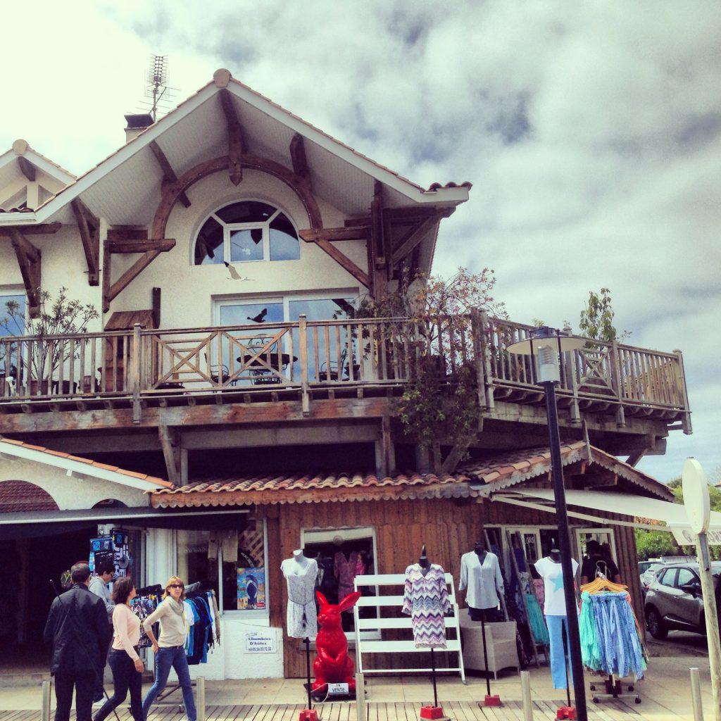 Une maison typique du Cap Ferret