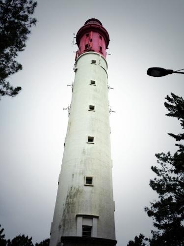 Le phare du Cap Ferret marque l'entrée du bassin d'Arcachon