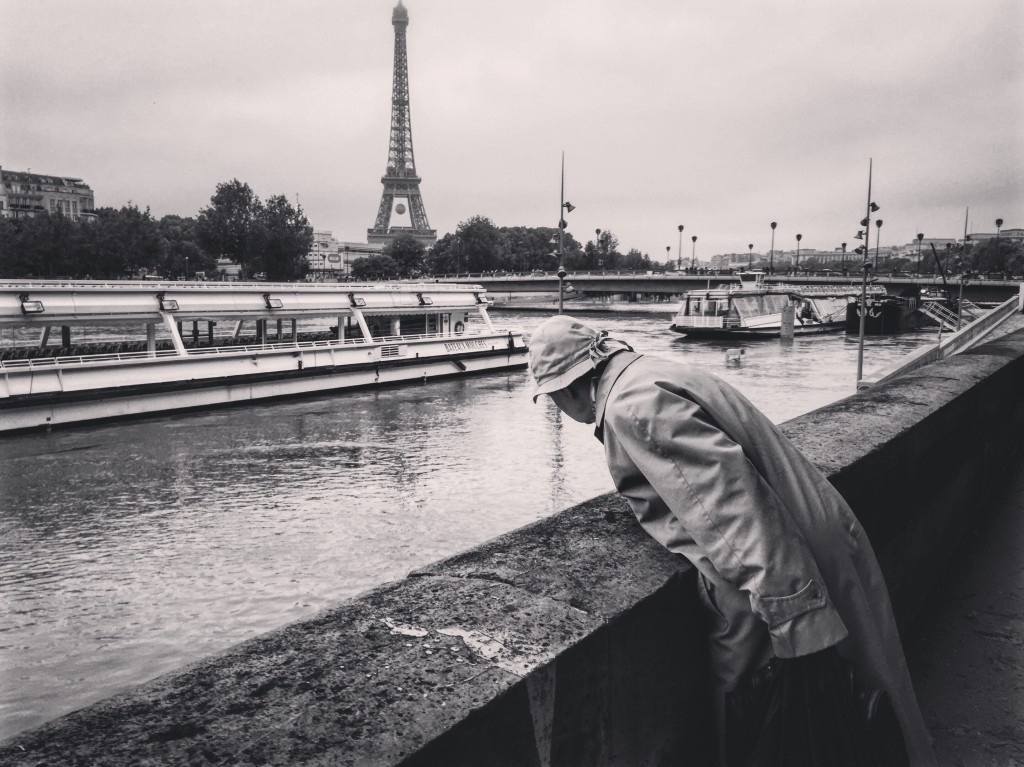 99. Alors la Seine elle monte ou elle ne monte pas?