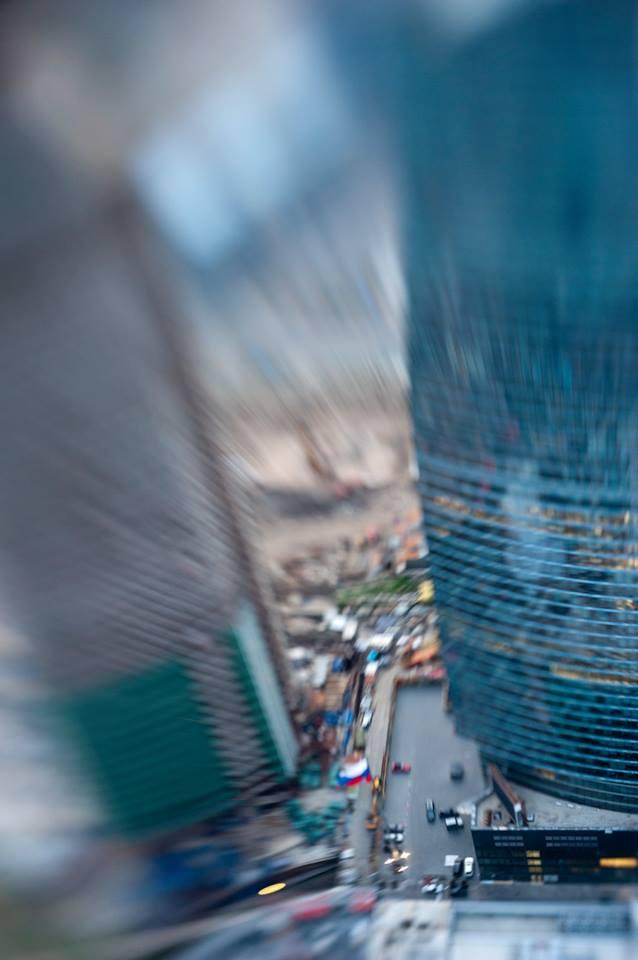 Moscow City par le photographe Evgeni Ivanov