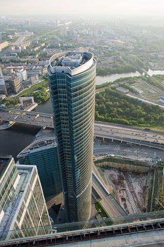 Une tour du quartier d'affaire, Moskva City ou Moscow City pour les intimes