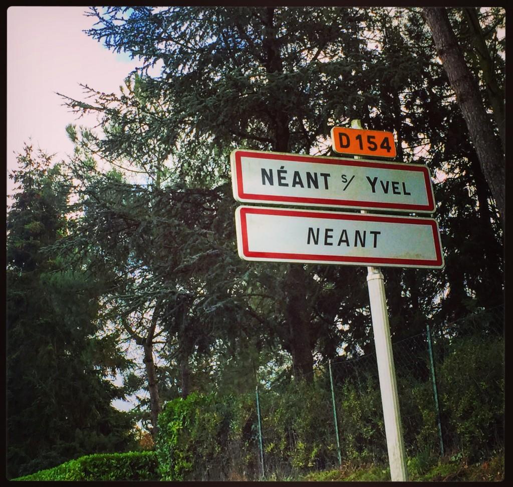 Néant, ce n'est pas rien c'est une petite ville de Bretagne