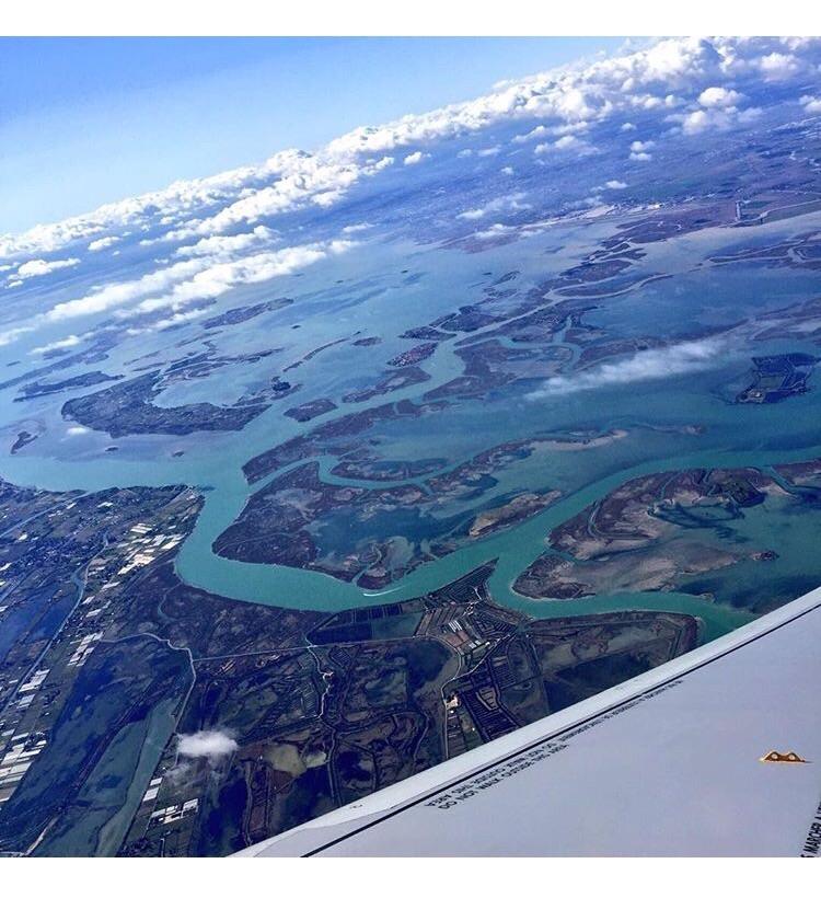 Venise, la lagune et ses méandres