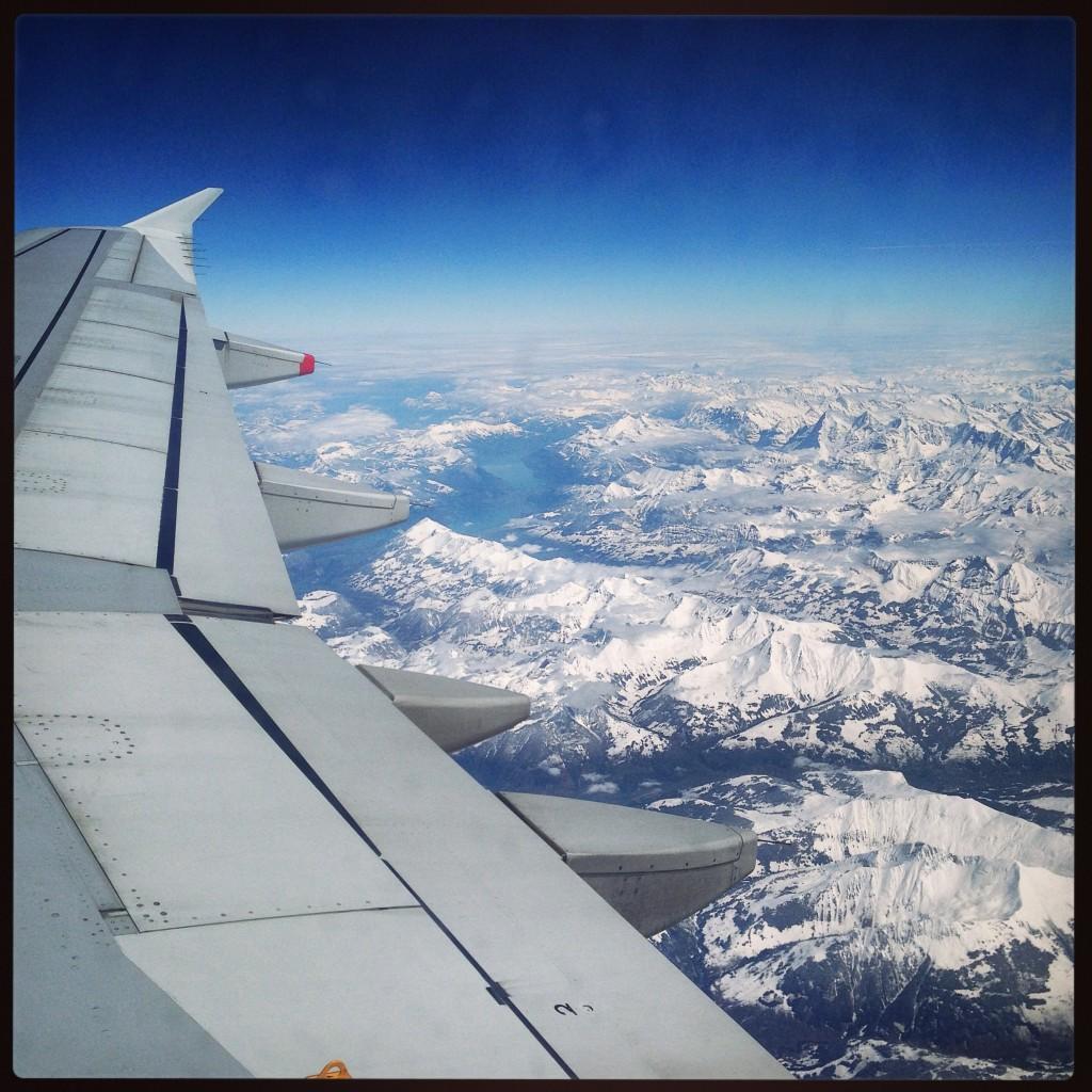 Vue imprenable sur les alpes italiennes