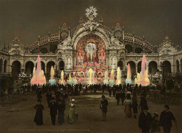 Paris 1900 pendant la nuit escale de nuit - Bazar de l electricite paris ...