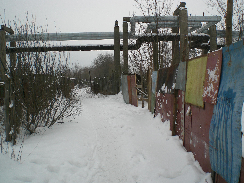 Canalisations hors sol en Russie