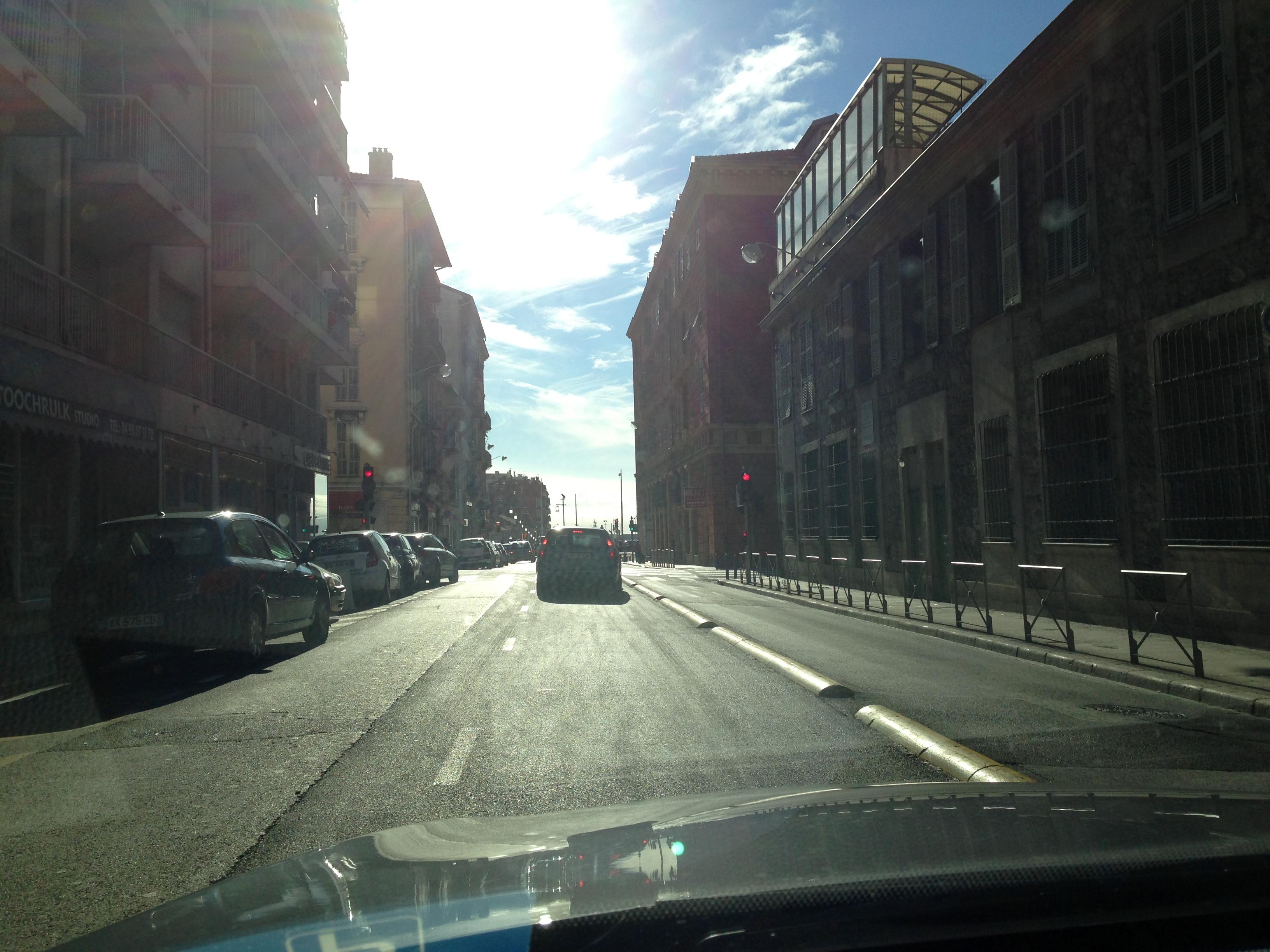 Ballade dans les rues Niçoises