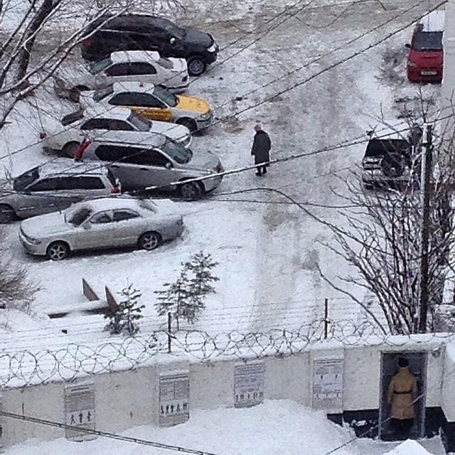 Vladivostok sous la neige