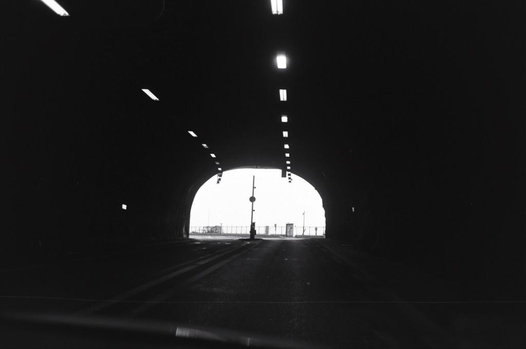 Arrivée à Monaco par le Tunnel