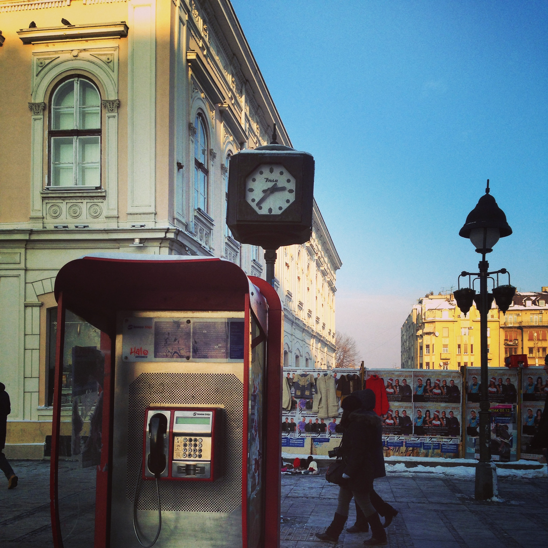 Centre ville de Belgrade