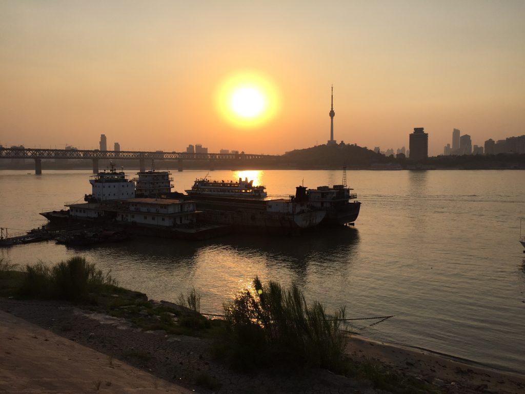 Le fleuve Yang Tse Kiang, l'un des plus grands et des plus longs fleuves du monde