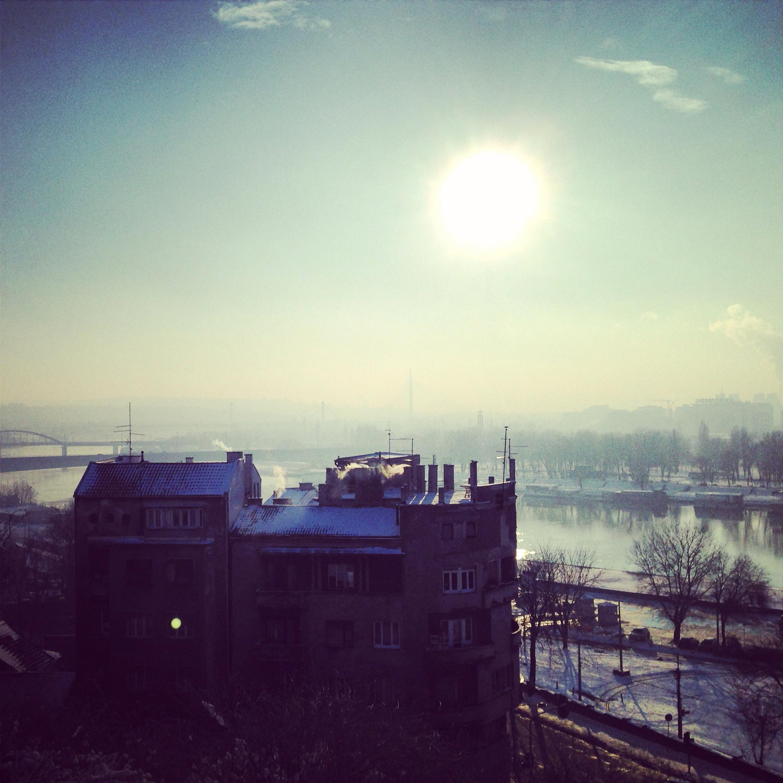 Panorama sur la ville de Belgrade
