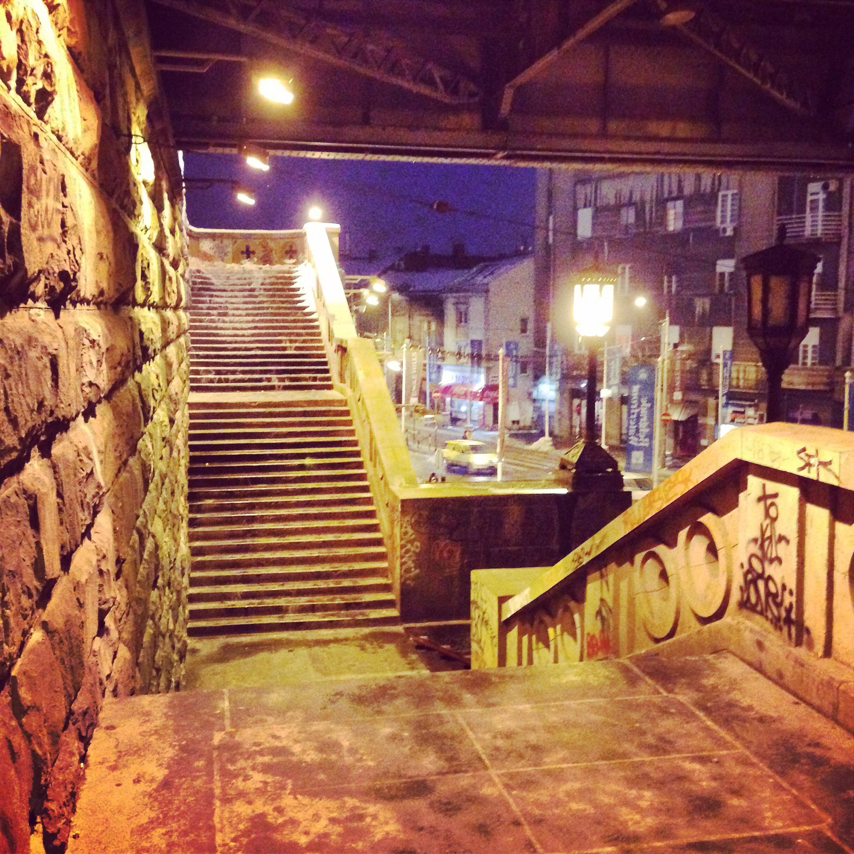 À la découverte de Belgrade la nuit