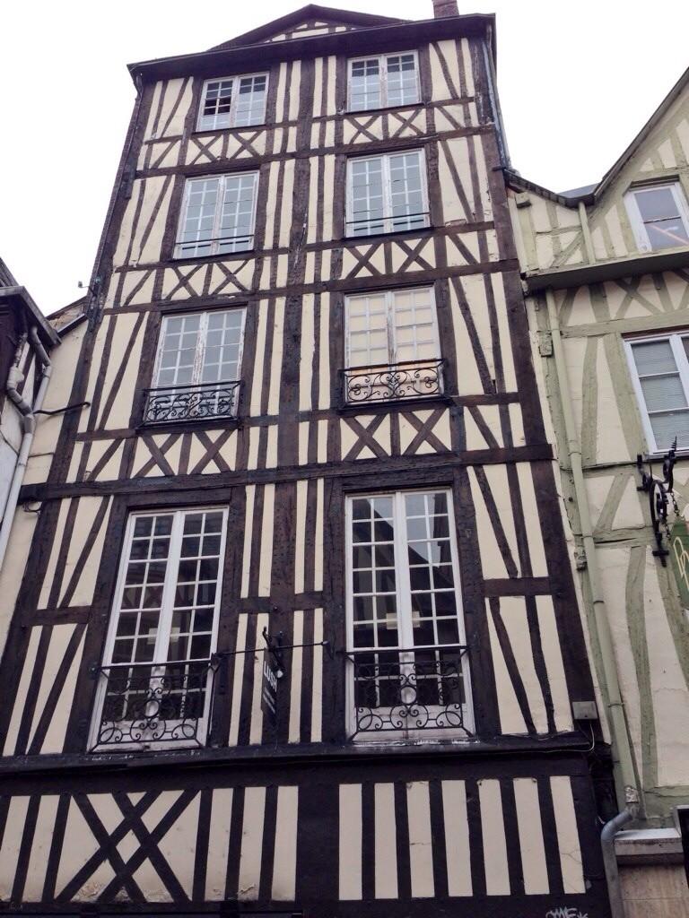 Une maison à colombage, Rouen
