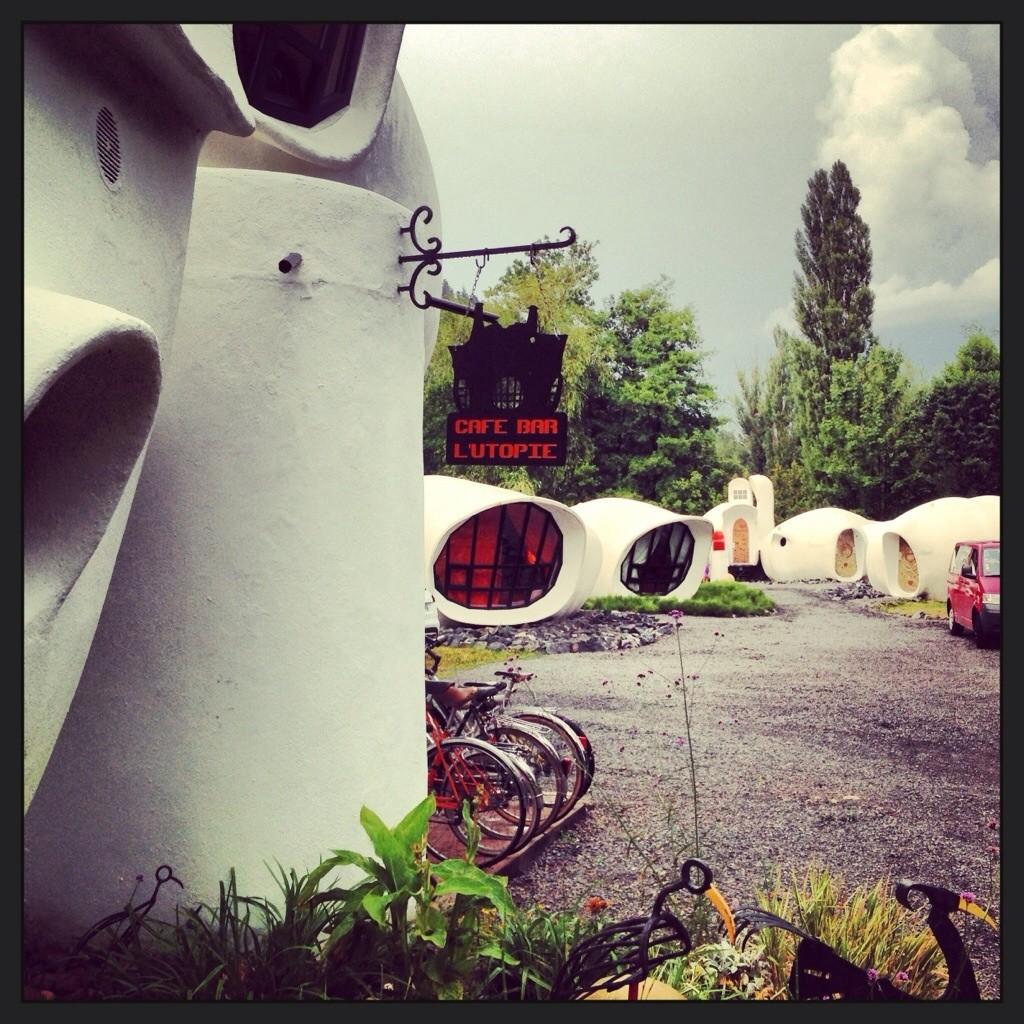Des maisons bulles dans les Vosges