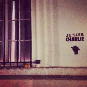 Je suis Charlie, street art à Paris