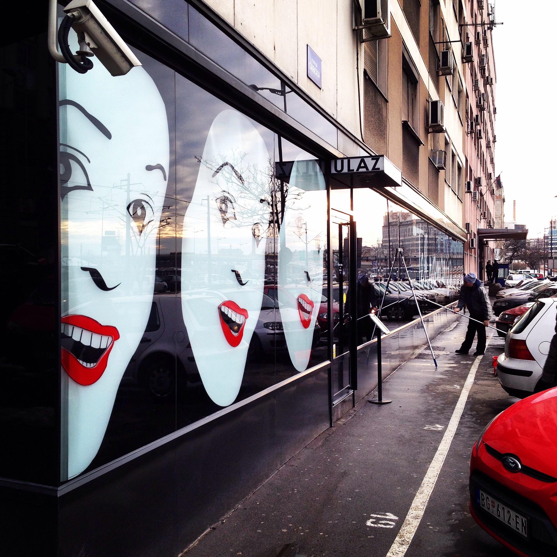 Smile you are in Belgrade