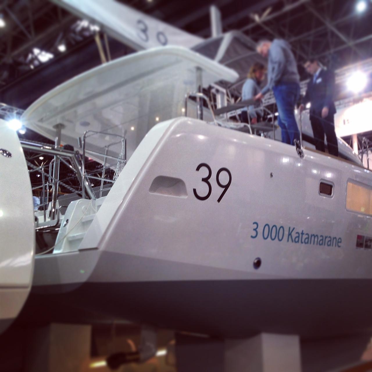 Lagoon 39, le catamaran du groupe Beneteau