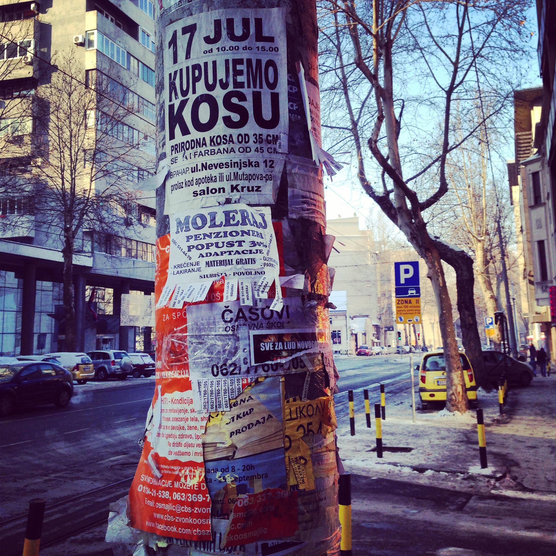 petites annonces à Belgrade