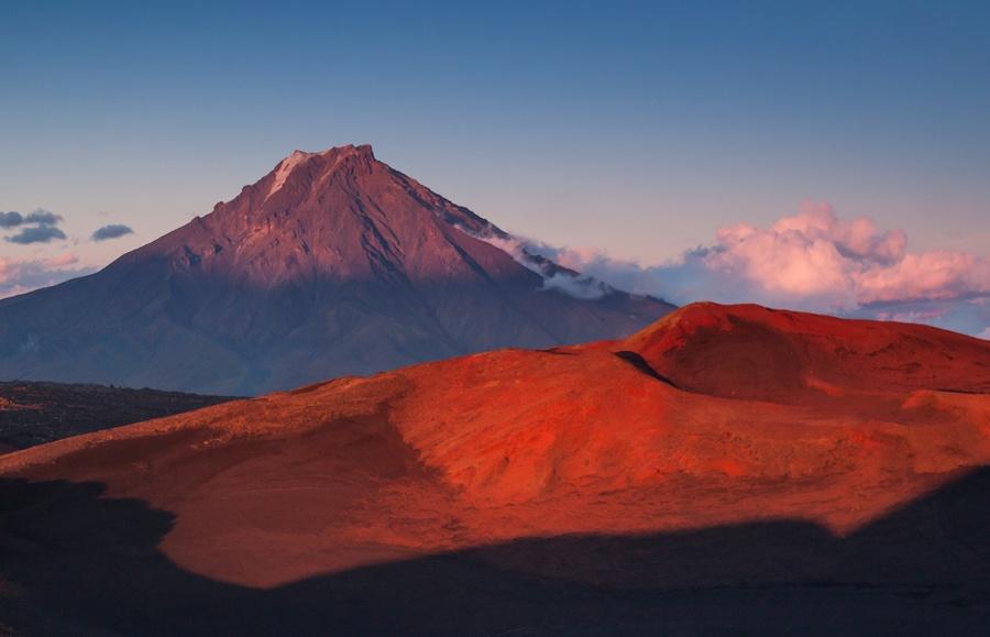 Les parois du volcan Tolbatchik