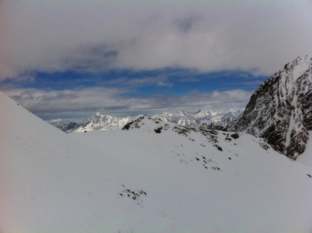 Un trait de ciel bleu au Tyrol