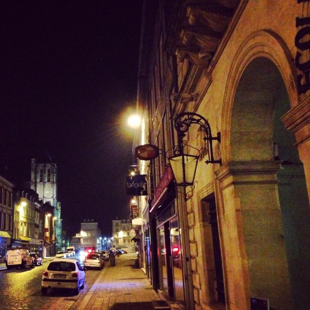 Ballade de nuit à Pont-Audemer