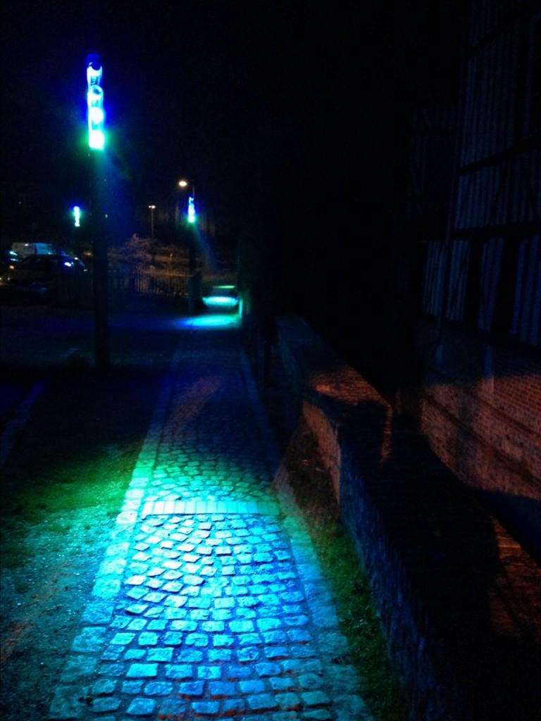 Éclairage et modernité à Pont-Audemer