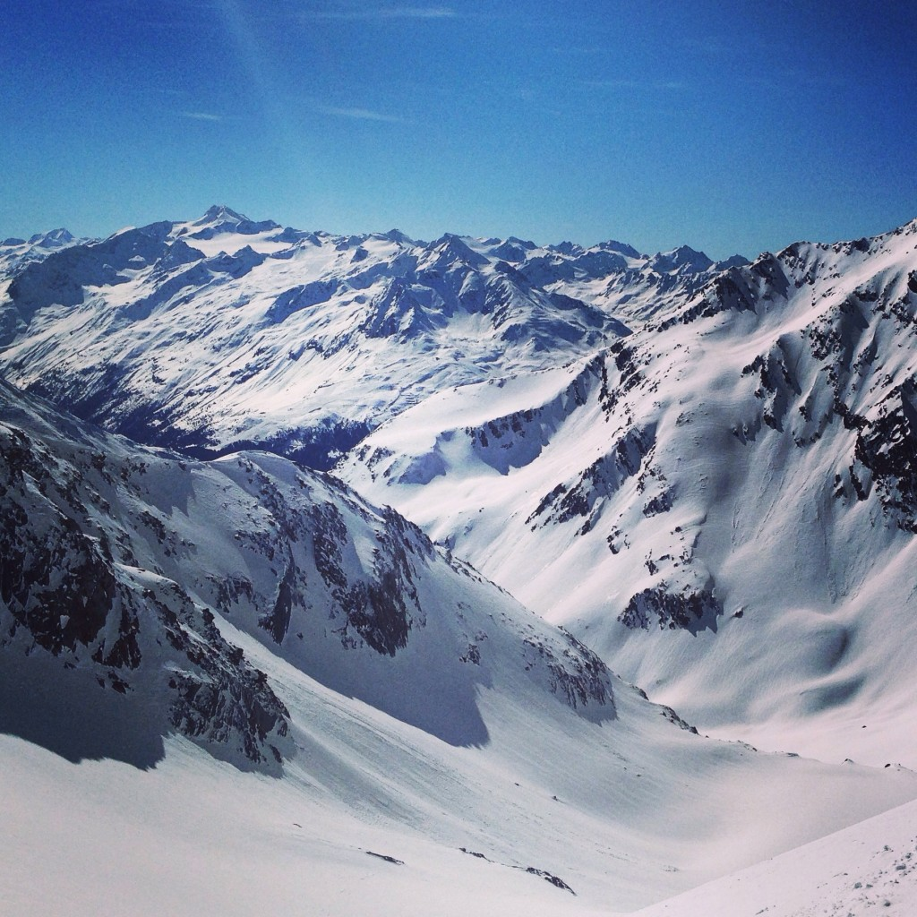 Le Tyrol noyé sous la neige