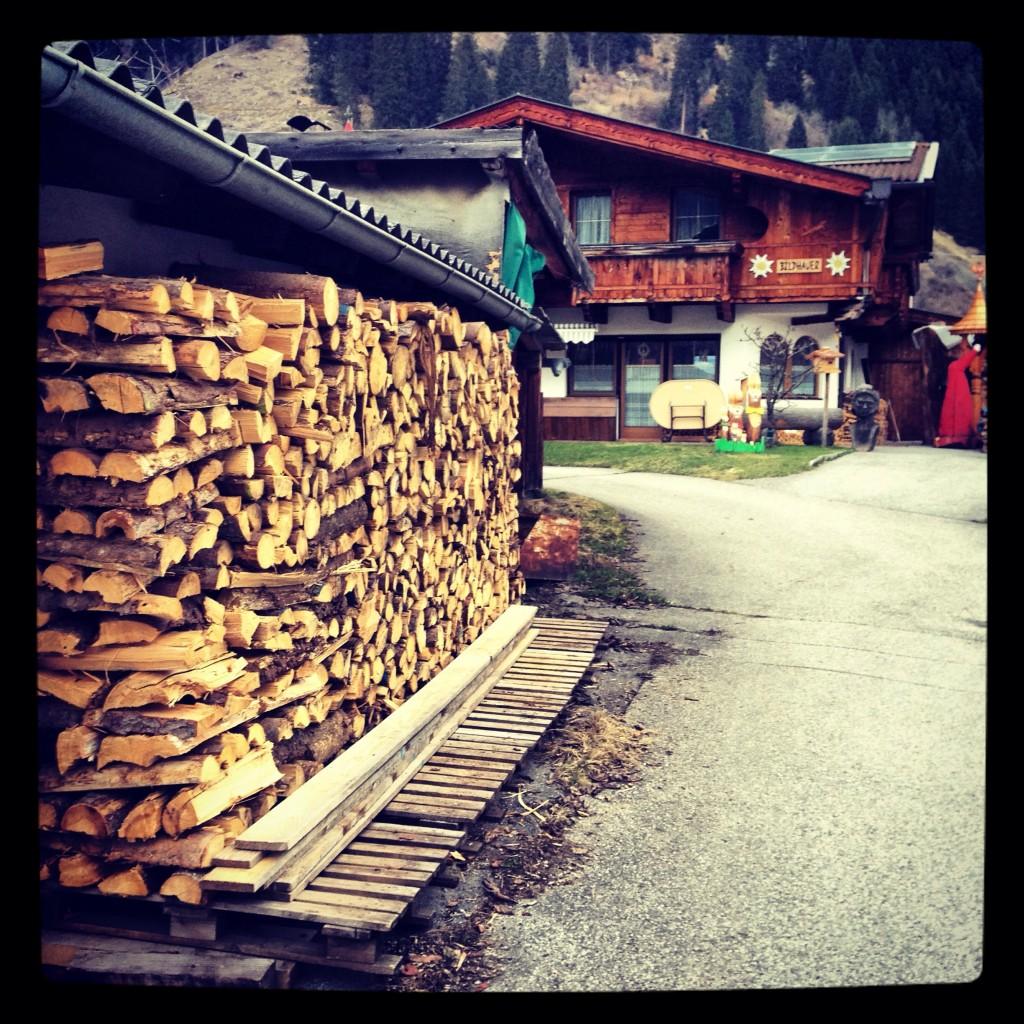 Un stock de bois pour affronter l'hiver