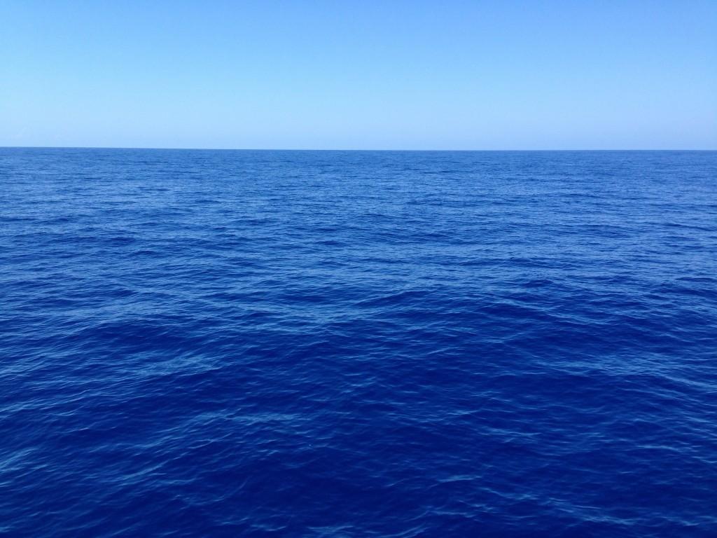 La mer occupe à peine plus de 3/4 de la planète