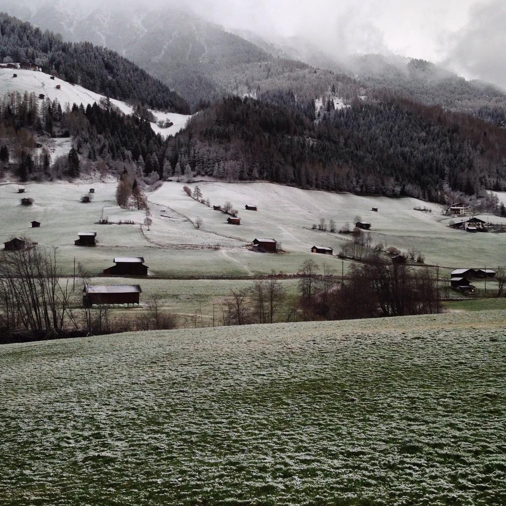Le Tyrol sous la menace d'une tempête de neige