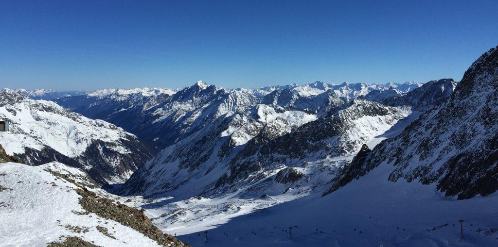 Quelque part dans le glacier du Stubaï en Autriche