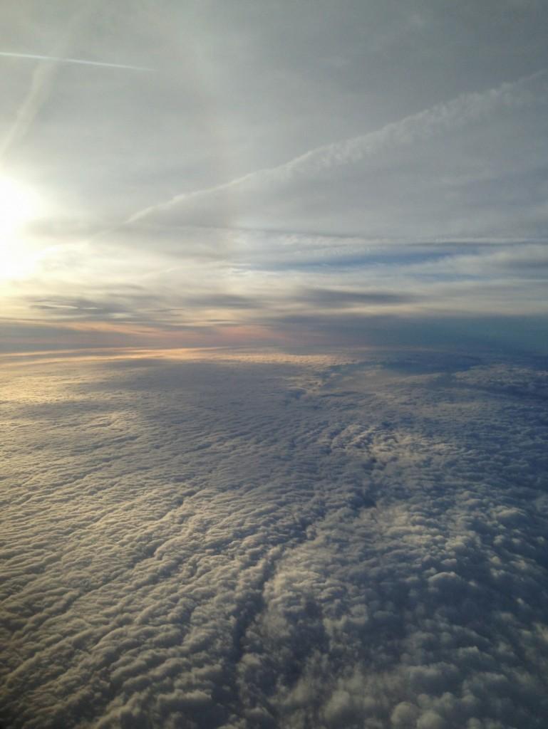 photo prise depuis un avion