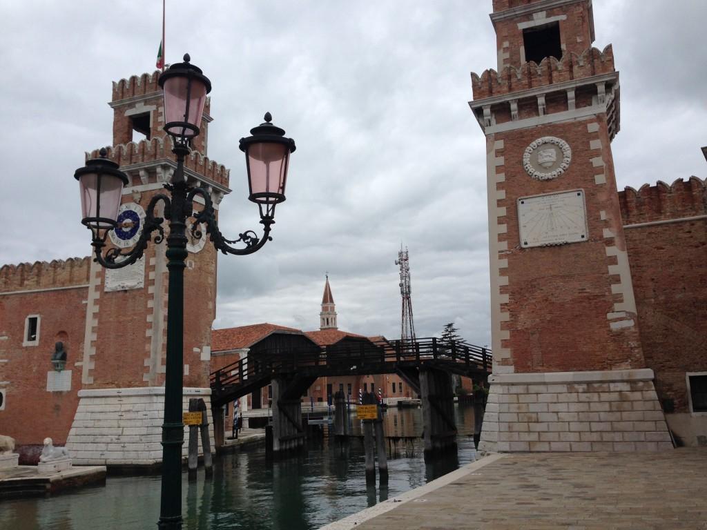 L'arsenal de la ville de Venise
