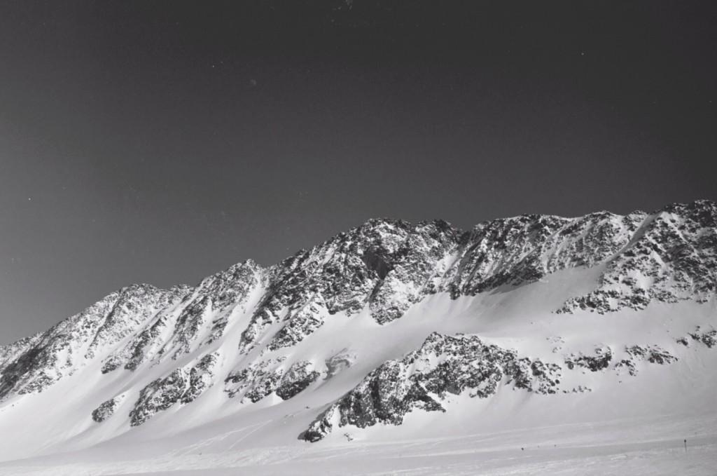 Le grand glacier du Stubaital en Autriche