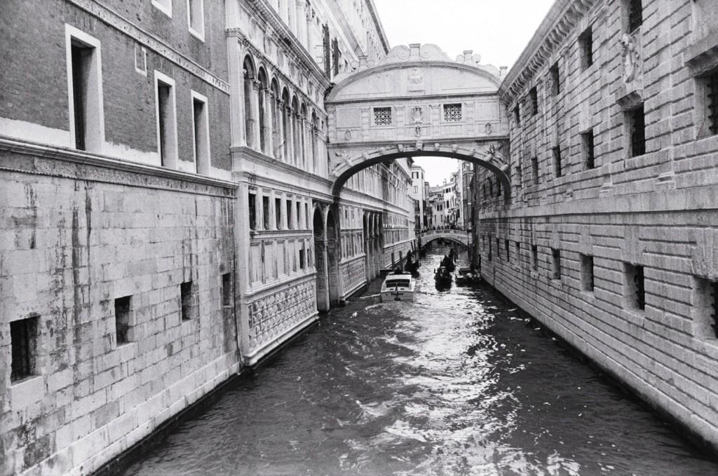 Le pont des soupirs à Venise