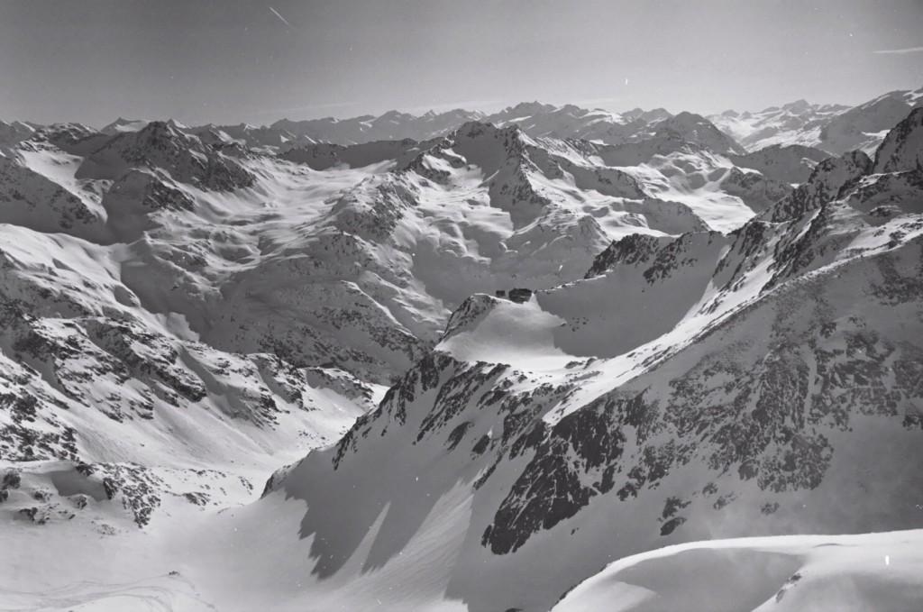 Les sommets du Tyrol à perte de vue