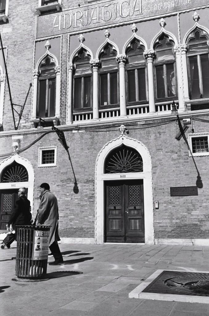 Scène de vie à Venise