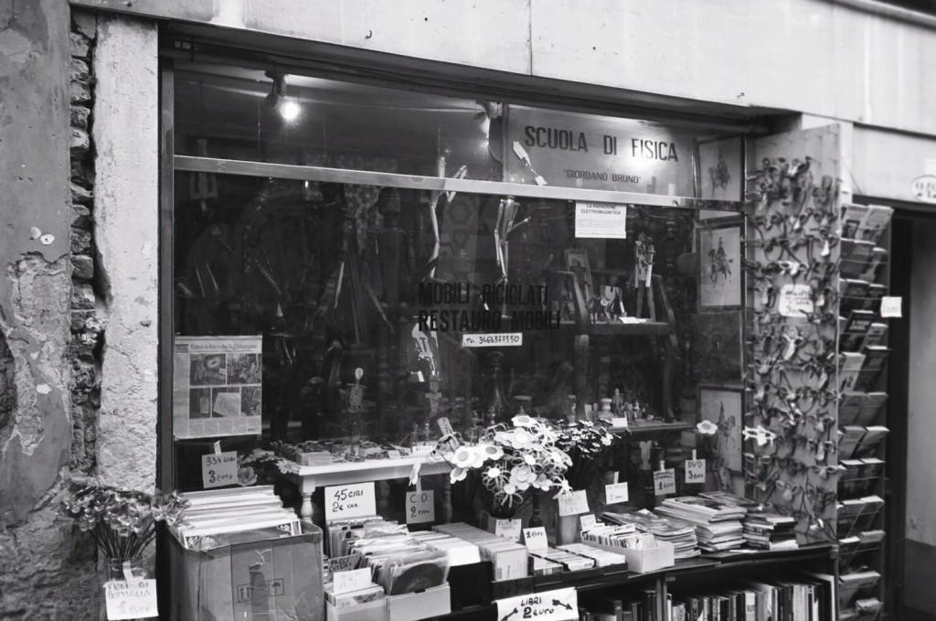 Une des dernières librairies de Venise