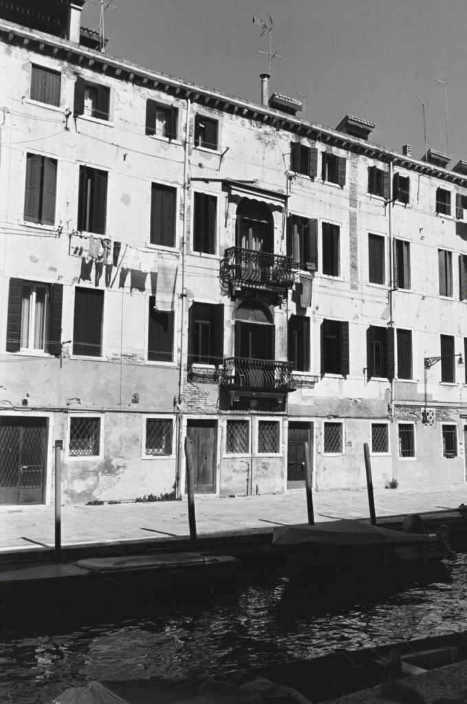 Une des rares habitations où vivent des vénitiens